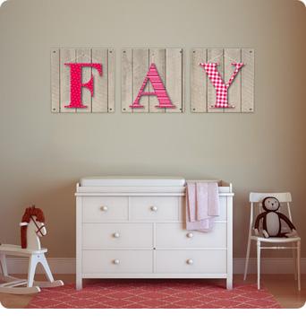 Kamer decor baby schilderij gehoor geven aan uw huis - Schilderij voor meisje slaapkamer ...